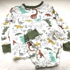 2T dinosaur pyjama set